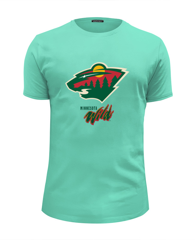Футболка Wearcraft Premium Slim Fit Printio Minnesota wild / nhl usa толстовка wearcraft premium унисекс printio minnesota wild nhl usa page 9