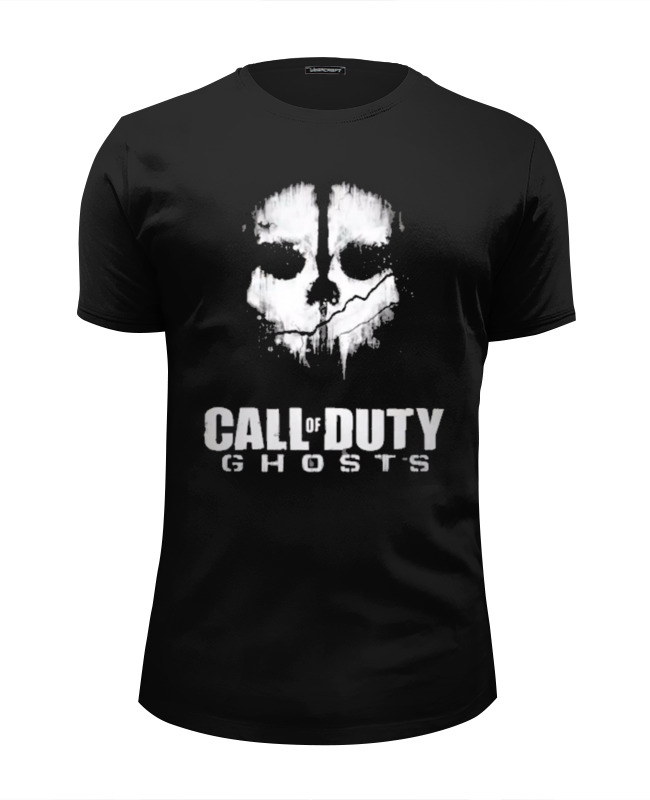 Футболка Wearcraft Premium Slim Fit Printio Call of duty: ghosts видеоигра для ps4 call of duty ghosts