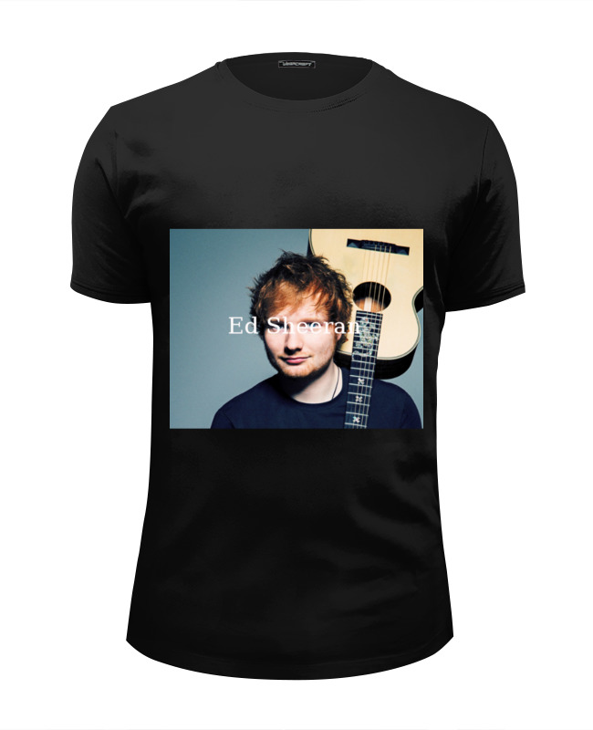 Футболка Wearcraft Premium Slim Fit Printio Ed sheeran shape of you cd ed sheeran divide