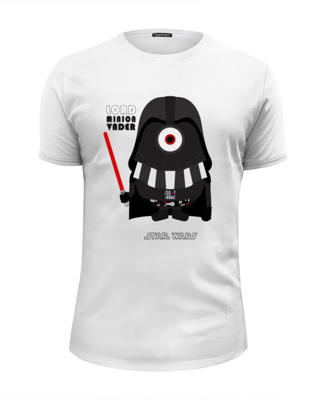 Printio lord minion vader футболка wearcraft premium slim fit printio evil minion