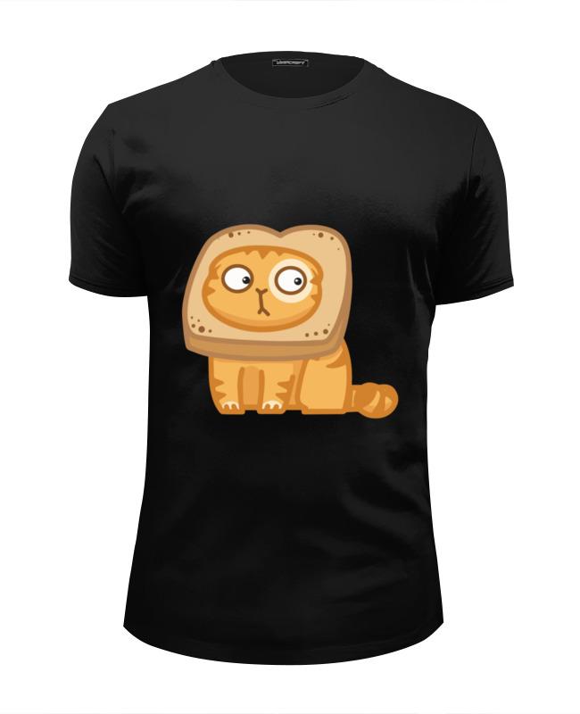 Футболка Wearcraft Premium Slim Fit Printio Кот персик / cat persik футболка для беременных printio кот персик