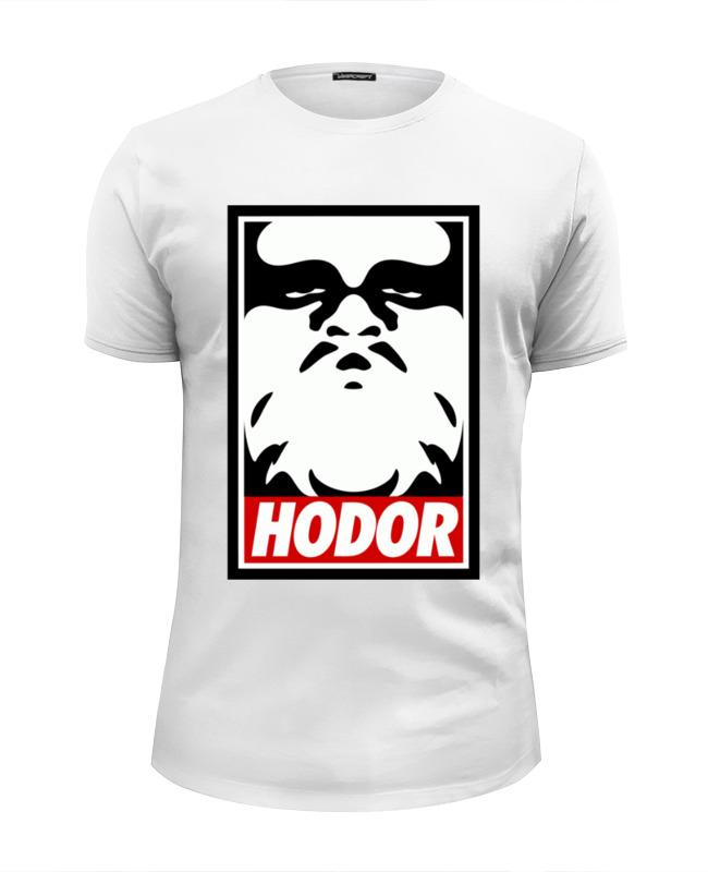 Футболка Wearcraft Premium Slim Fit Printio Hodor (obey)