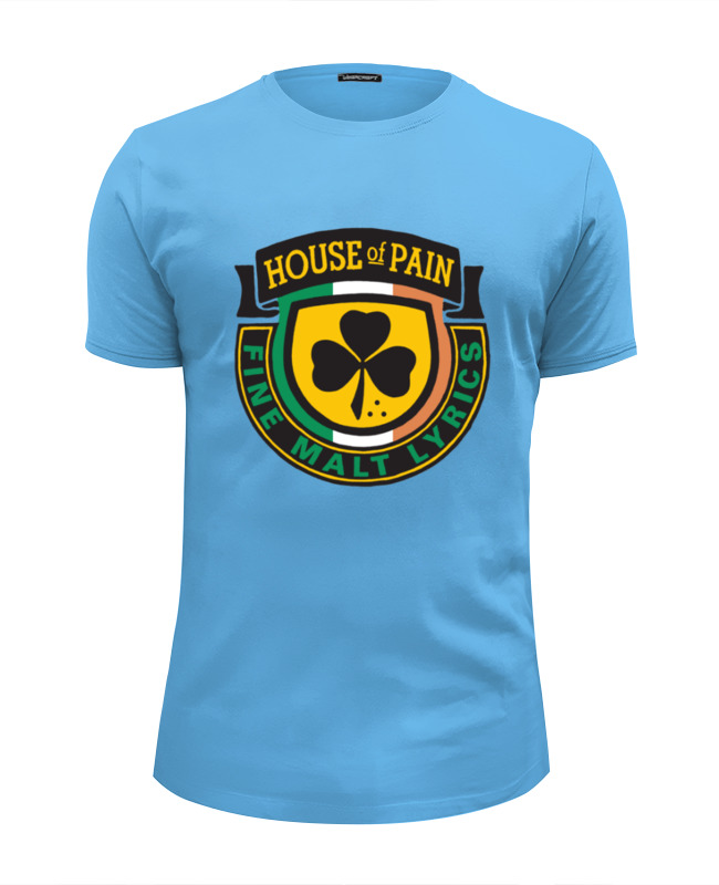 Футболка Wearcraft Premium Slim Fit Printio House of pain футболка wearcraft premium printio house of pain