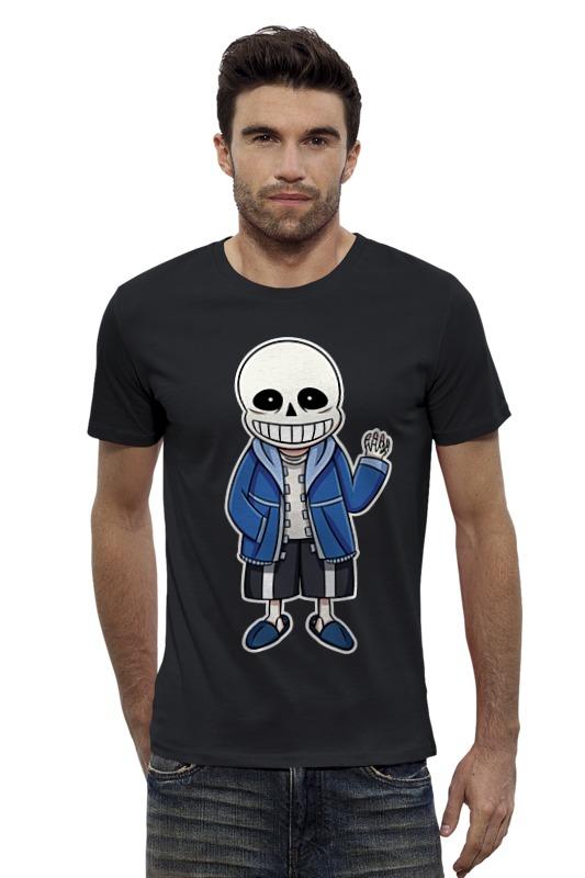 Футболка Wearcraft Premium Slim Fit Printio Санс (undertale) футболка wearcraft premium printio игра престолов