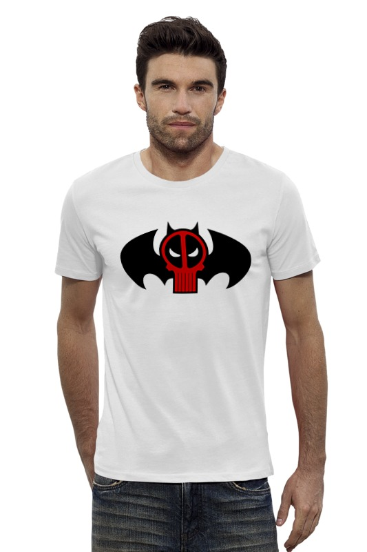 Футболка Wearcraft Premium Slim Fit Printio Deadpool x batman футболка wearcraft premium slim fit printio ice king x batman