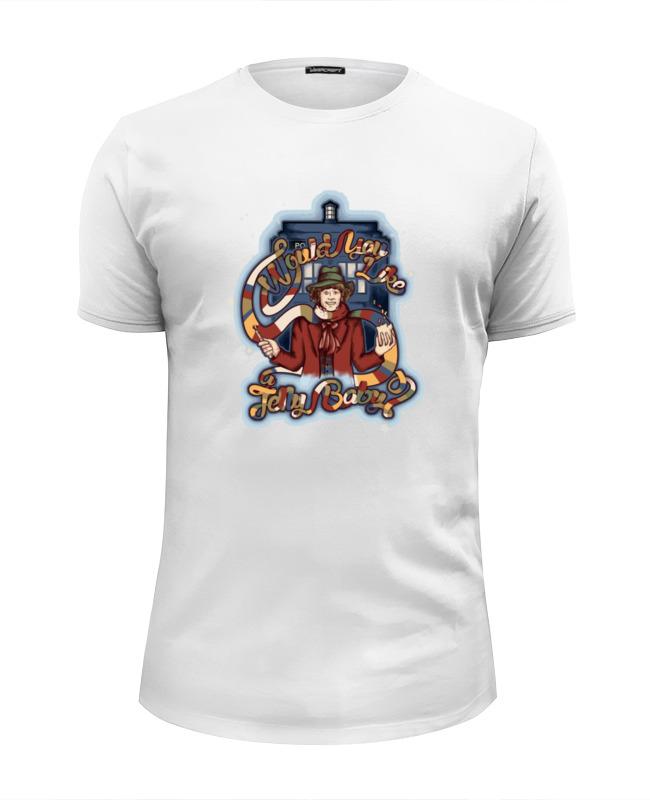 Футболка Wearcraft Premium Slim Fit Printio Доктор кто (doctor who) футболка wearcraft premium slim fit printio crazy doctor who