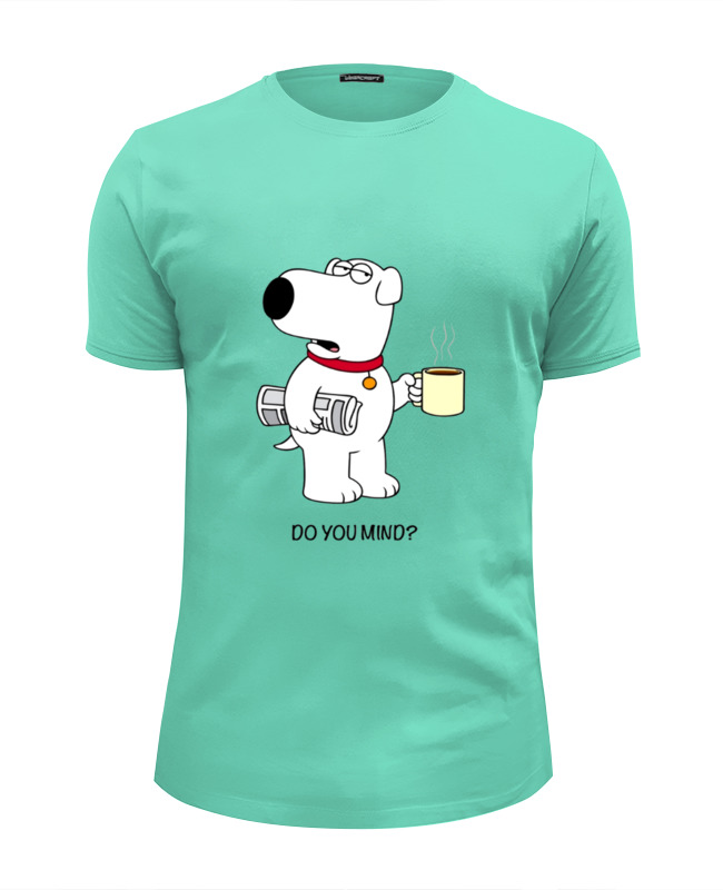 Футболка Wearcraft Premium Slim Fit Printio Brain griffin футболка wearcraft premium slim fit printio office kills my brain