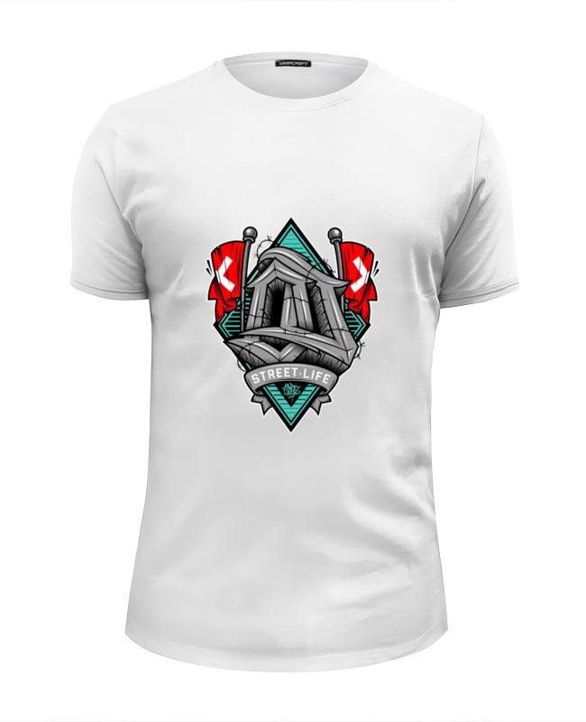 Printio Street life футболка wearcraft premium slim fit printio street life