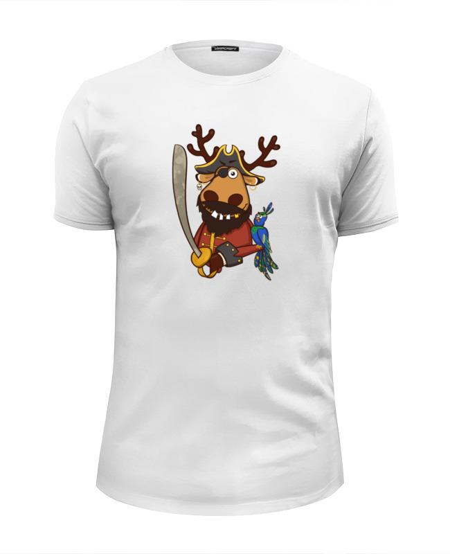 Футболка Wearcraft Premium Slim Fit Printio Подслушано принт олень пират футболка wearcraft premium slim fit printio подслушано олень с тату