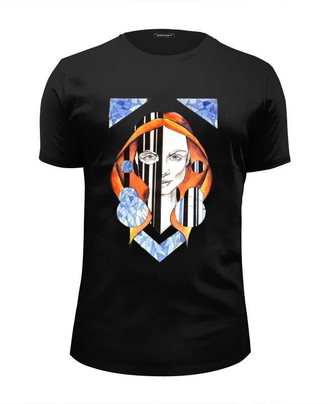 Футболка Wearcraft Premium Slim Fit Printio Двуликая футболка классическая printio двуликая