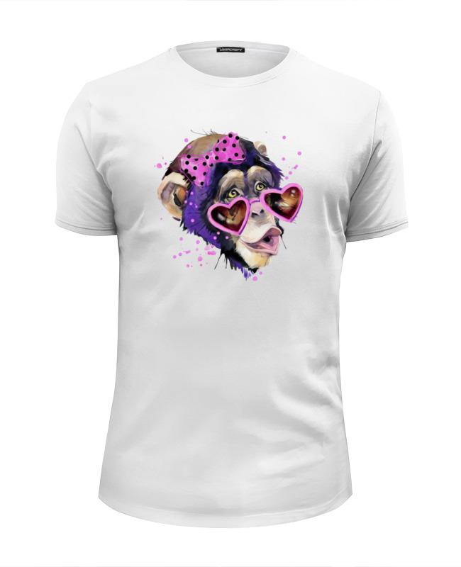 Футболка Wearcraft Premium Slim Fit Printio Art monkey 2016 футболка wearcraft premium printio art monkey 2016