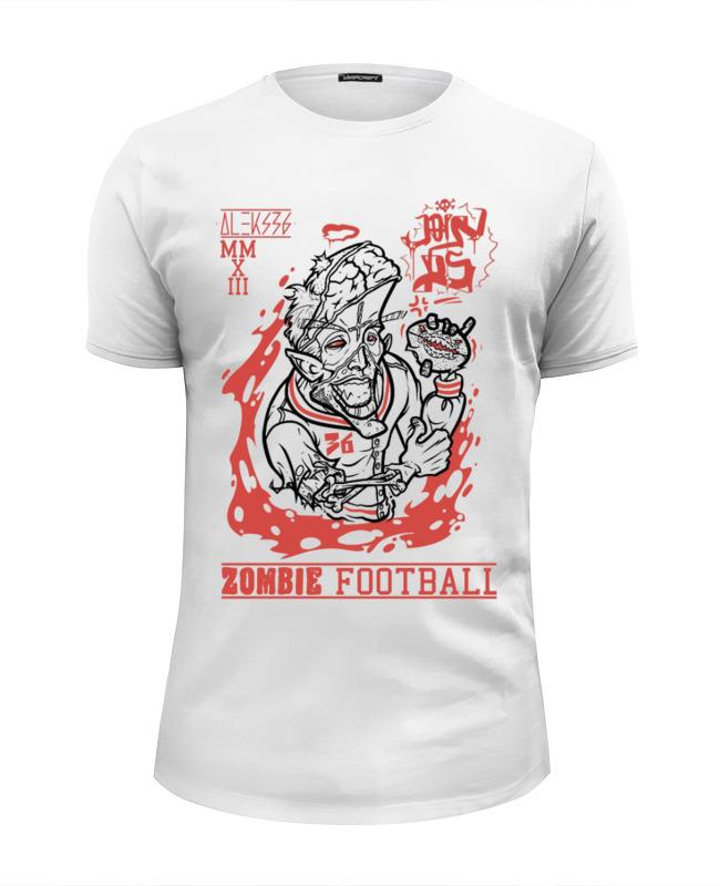 Футболка Wearcraft Premium Slim Fit Printio Zombie football