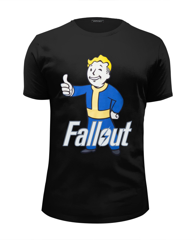 Футболка Wearcraft Premium Slim Fit Printio Fallout game микрофон rode reporter