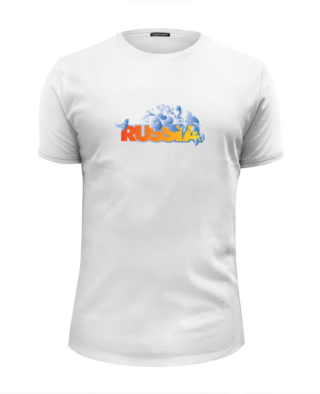 Футболка Wearcraft Premium Slim Fit Printio Russia футболка wearcraft premium printio welcome to russia