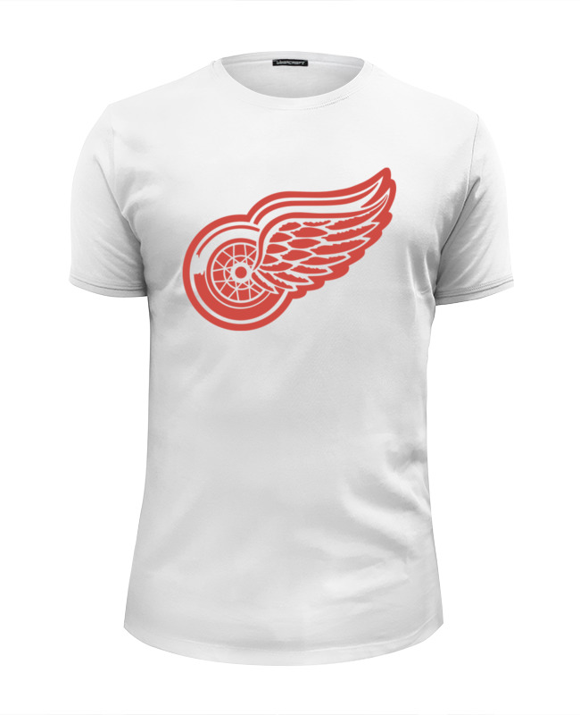 Футболка Wearcraft Premium Slim Fit Printio Detroit red wings цена