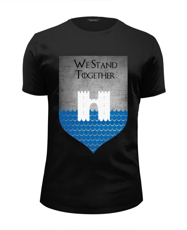 Футболка Wearcraft Premium Slim Fit Printio Игра престолов герб фреев футболка wearcraft premium printio игра престолов герб бейлишей