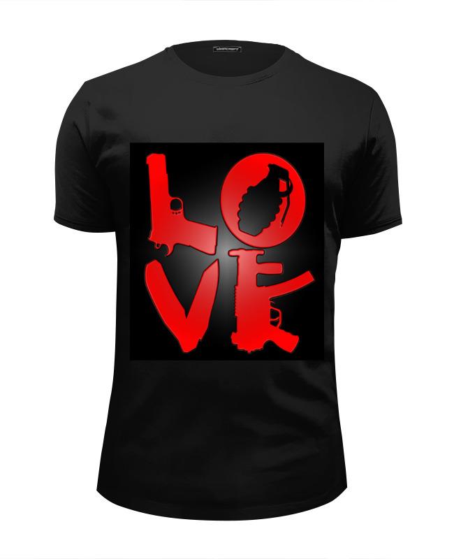 Футболка Wearcraft Premium Slim Fit Printio Love - 1 футболка wearcraft premium slim fit printio love for orlando