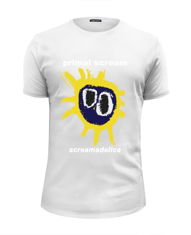 Футболка Wearcraft Premium Slim Fit Printio Primal scream / screamadelica