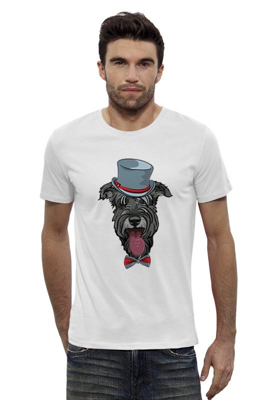 Футболка Wearcraft Premium Slim Fit Printio Шнауцер как купить собаку в новосибирске породы ризеншнауцер без документов