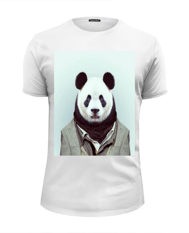 Футболка Wearcraft Premium Slim Fit Printio Деловая панда