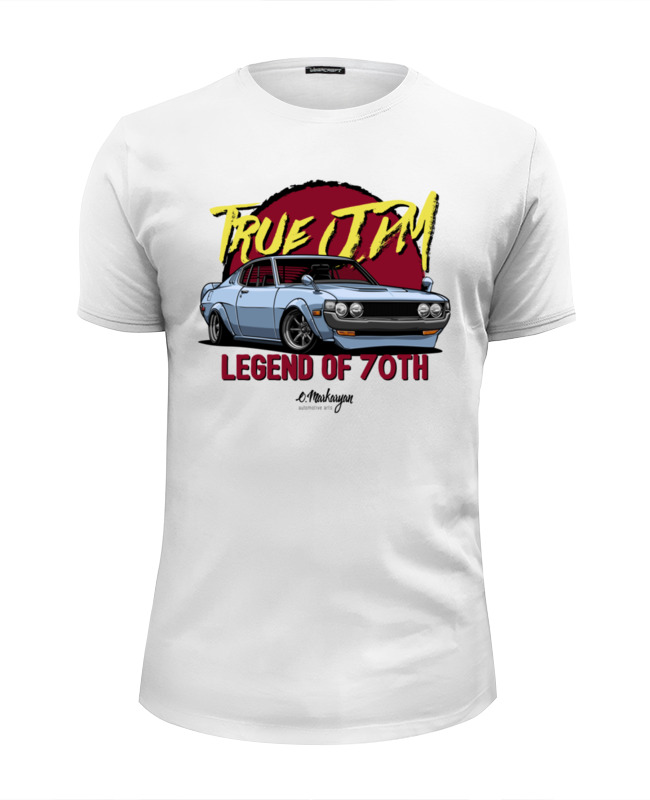 Футболка Wearcraft Premium Slim Fit Printio Old toyota celica футболка wearcraft premium slim fit printio toyota celica gt four