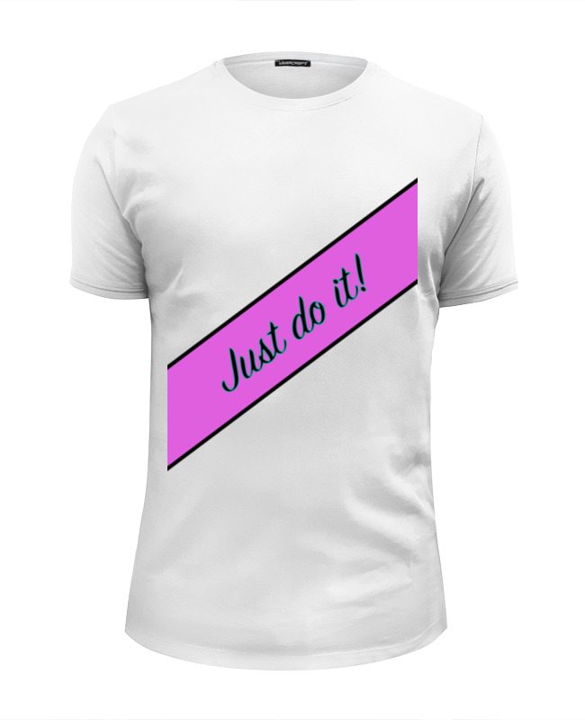 Printio Just do it! футболка wearcraft premium slim fit printio just do it