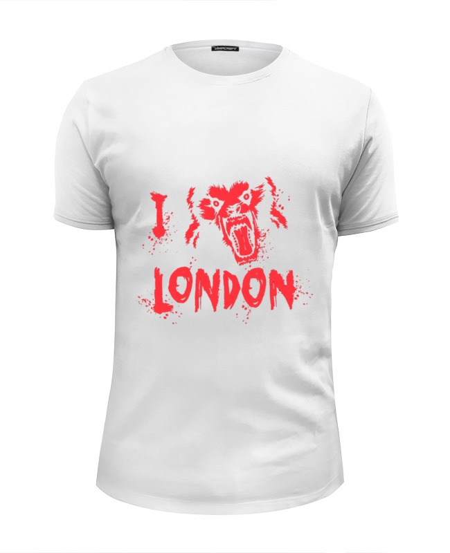 Футболка Wearcraft Premium Slim Fit Printio I love london футболка wearcraft premium slim fit printio i love navalny