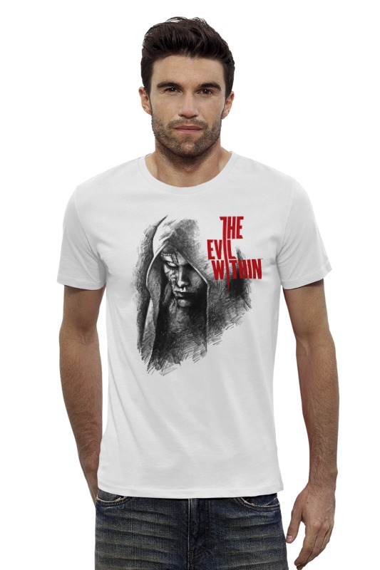 Футболка Wearcraft Premium Slim Fit Printio The evil within футболка wearcraft premium slim fit printio the evil within