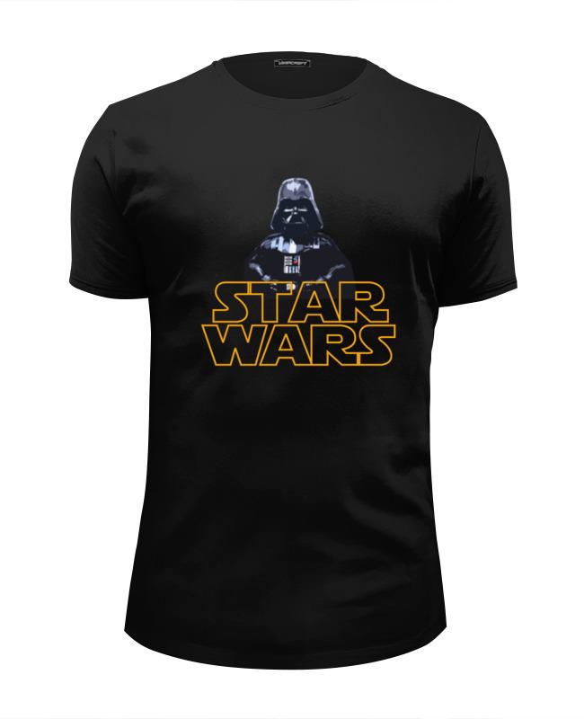 Футболка Wearcraft Premium Slim Fit Printio Star wars. darth vader футболка wearcraft premium slim fit printio star wars akira ray s speeder спидер рэй