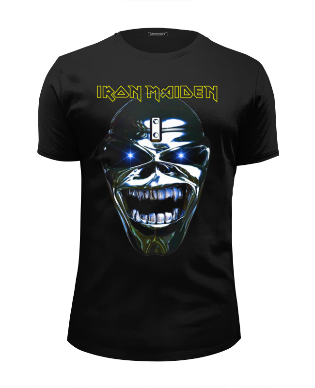 Футболка Wearcraft Premium Slim Fit Printio Iron maiden band футболка wearcraft premium slim fit printio hirax band