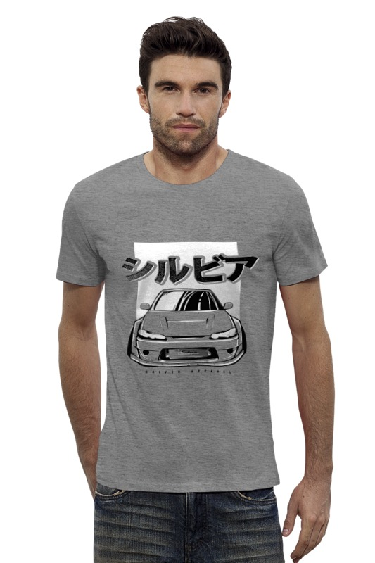 Футболка Wearcraft Premium Slim Fit Printio Jdm nissan silvia s15 stance футболка wearcraft premium slim fit printio nissan gtr r35