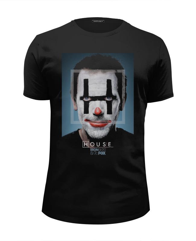 Футболка Wearcraft Premium Slim Fit Printio Доктор хаус / house футболка print bar house artaxiad