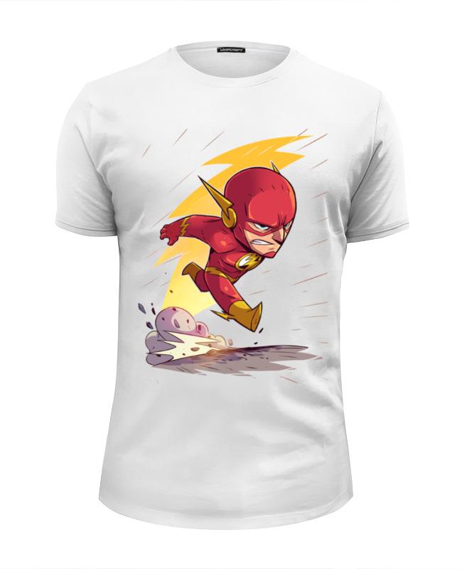 Футболка Wearcraft Premium Slim Fit Printio Флэш / flash футболка wearcraft premium slim fit printio flash футболка шелдона