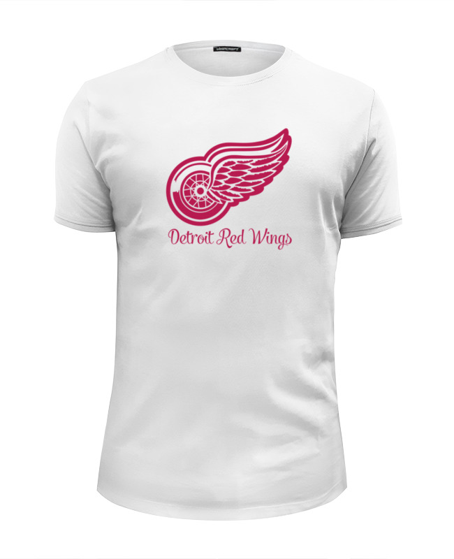 Футболка Wearcraft Premium Slim Fit Printio Detroit red wings eurofit detroit iwm