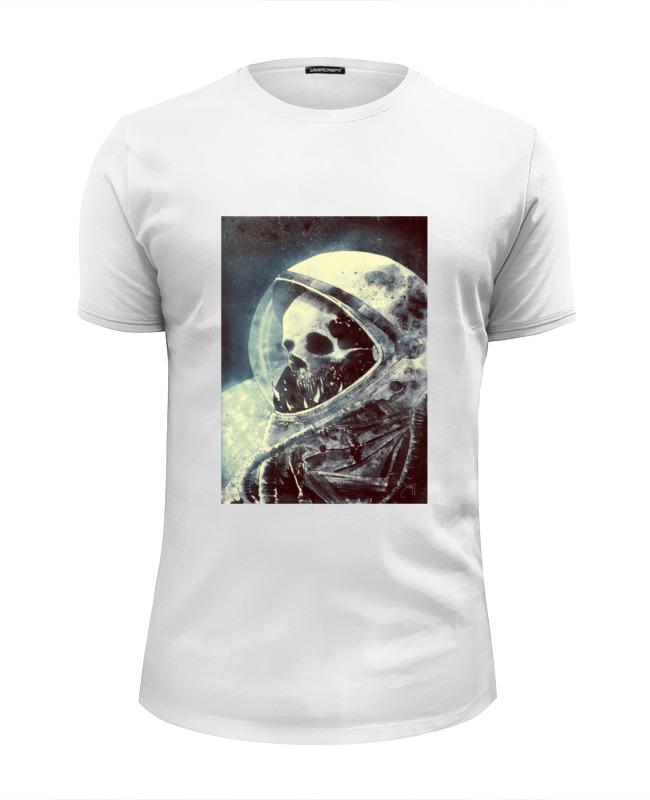 Футболка Wearcraft Premium Slim Fit Printio Безлюдный космос футболка wearcraft premium slim fit printio боулинг