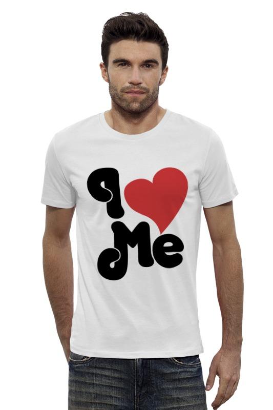Футболка Wearcraft Premium Slim Fit Printio Я люблю себя футболка wearcraft premium slim fit printio я люблю мир