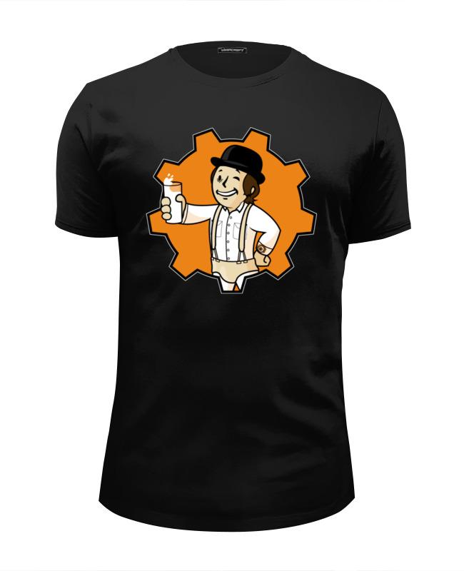Футболка Wearcraft Premium Slim Fit Printio Vault boy (fallout) футболка wearcraft premium slim fit printio fallout vault shelter