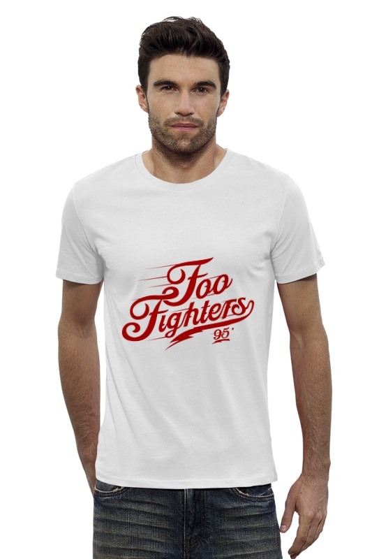 Футболка Wearcraft Premium Slim Fit Printio Foo fighters foo fighters foo fighters skin