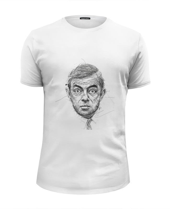 Футболка Wearcraft Premium Slim Fit Printio Роуэн аткинсон футболка wearcraft premium slim fit printio футболка мистер бин