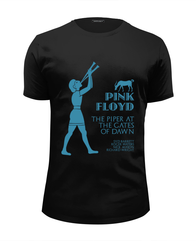 Футболка Wearcraft Premium Slim Fit Printio Pink floyd - the piper at the gates of dawn the pink hotel