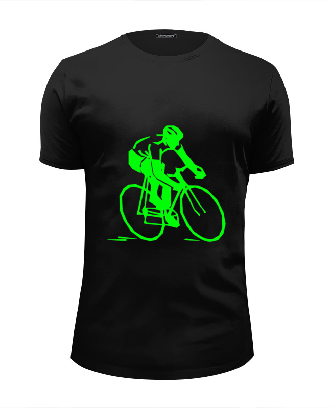 Printio Велосипедист (1) футболка wearcraft premium slim fit printio влюбленный велосипедист