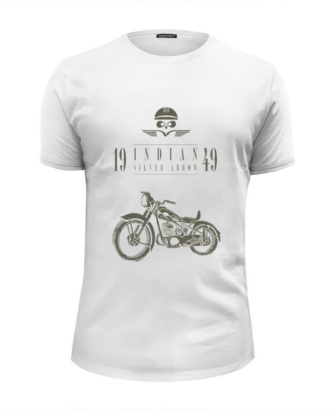 Футболка Wearcraft Premium Slim Fit Printio Indian silver arrow 1949 футболка wearcraft premium printio мотоциклы