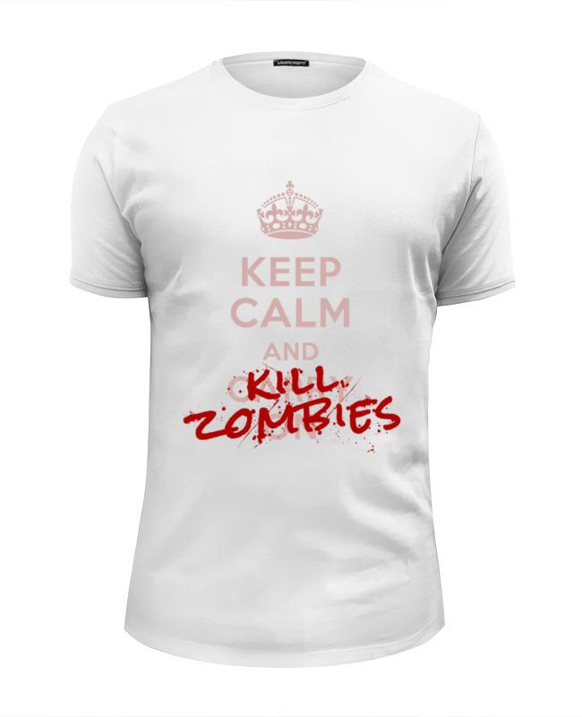 Футболка Wearcraft Premium Slim Fit Printio Kill zombies футболка wearcraft premium slim fit printio love fit kill it rich piana 5%