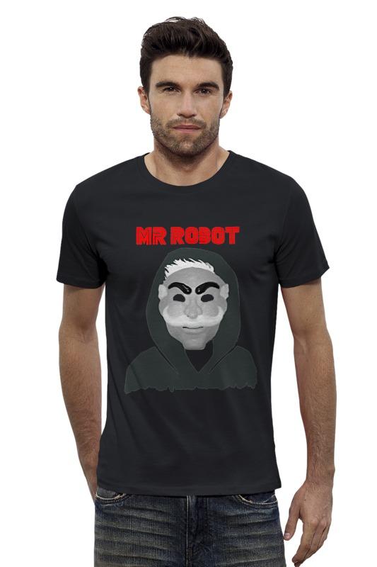 Футболка Wearcraft Premium Slim Fit Printio Мистер робот футболка wearcraft premium slim fit printio fender usa