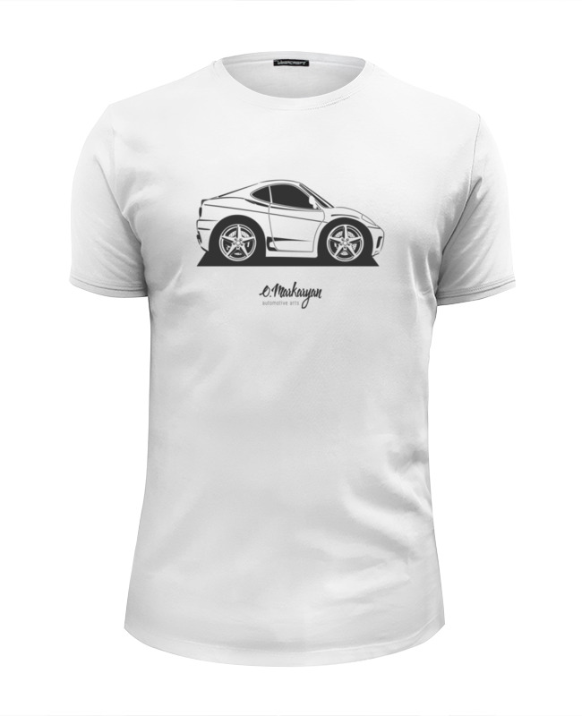 цена на Футболка Wearcraft Premium Slim Fit Printio Mini cars. f360