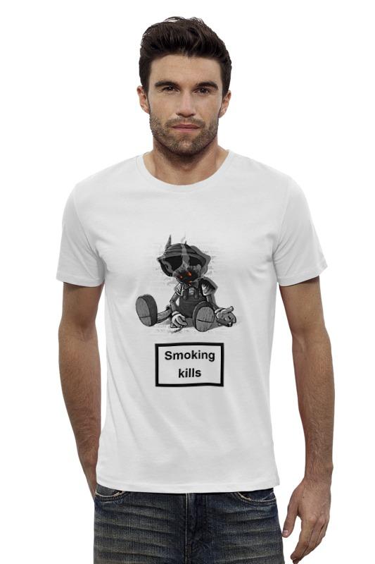 Футболка Wearcraft Premium Slim Fit Printio Smoking kills футболка wearcraft premium printio no smoking