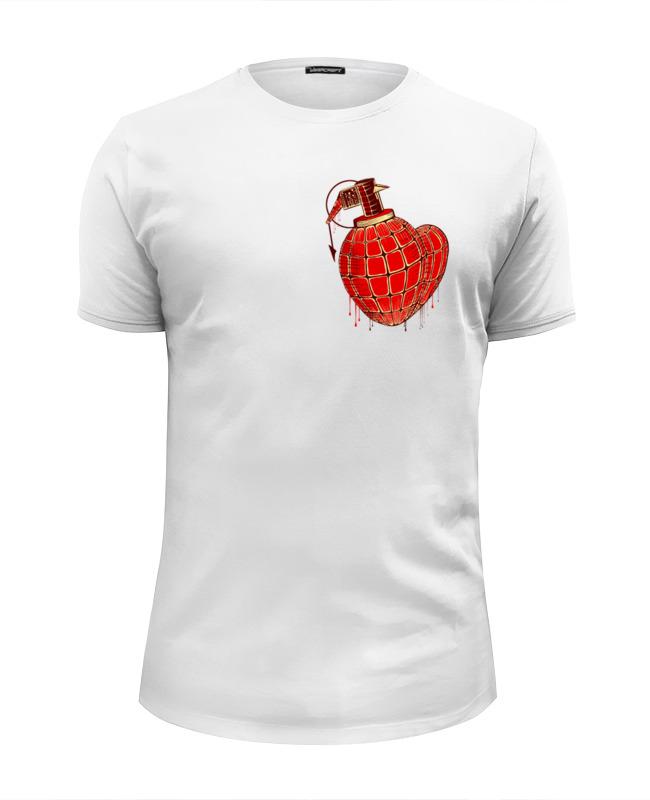 Футболка Wearcraft Premium Slim Fit Printio Любовь война футболка wearcraft premium printio отечественная война