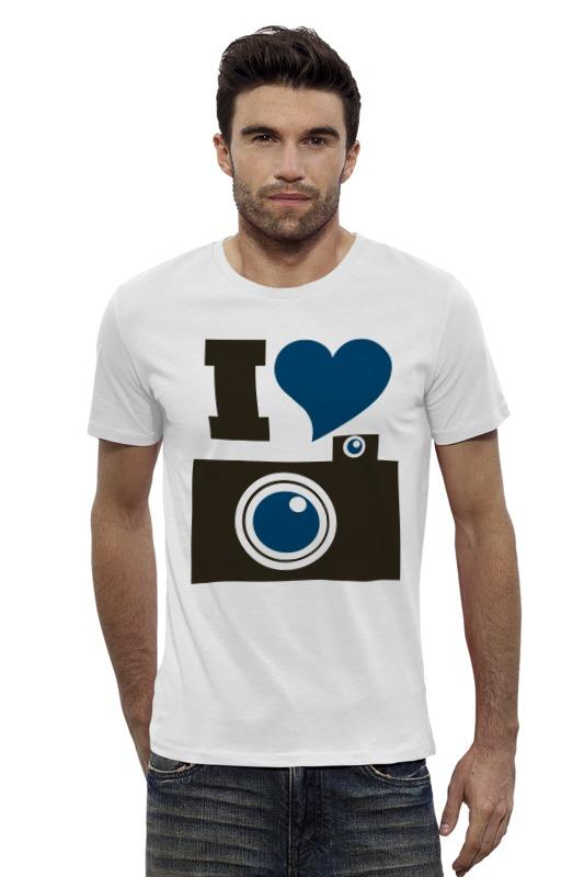 Футболка Wearcraft Premium Slim Fit Printio Я люблю фото (селфи) футболка wearcraft premium slim fit printio я люблю мир