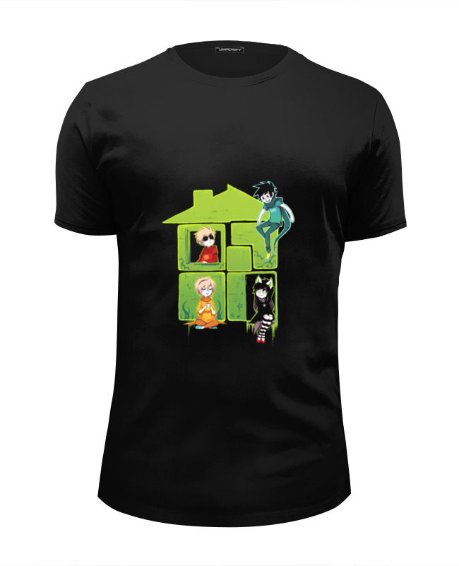 Футболка Wearcraft Premium Slim Fit Printio Логотип хоумстак футболка wearcraft premium slim fit printio дэйв страйдер homestuck