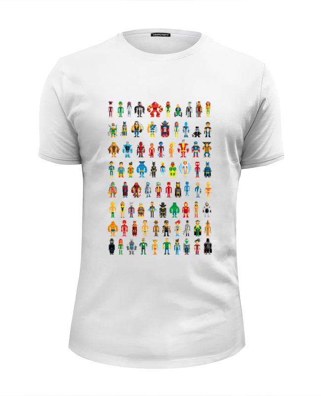 все цены на Printio Пиксельные супергерои онлайн